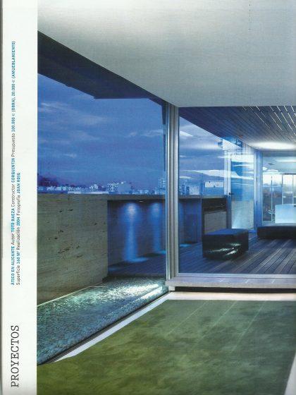 Áticos de nueva generación, Diseño Interior