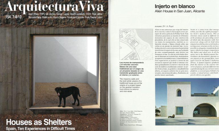 Injerto en Blanco – Alien House, Arquitectura Viva