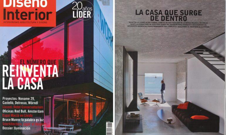 La Casa Que Surge De Dentro, Diseño Interior
