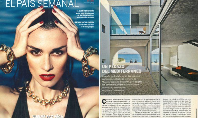 Un pedazo del mediterráneo, El País Semanal